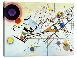 Tela  Composition no. 8  - Wassily Kandinsky