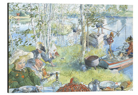 Alluminio Dibond  Opening of the crab fishing season - Carl Larsson