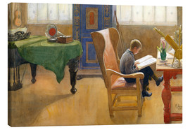 Stampa su tela  Document - Carl Larsson