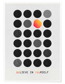 Poster Premium  Be You - Elisabeth Fredriksson
