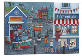 Stampa su alluminio  Seaside icecreams - Peter Adderley
