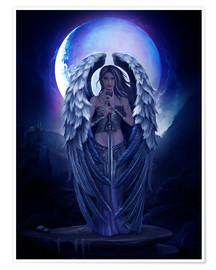 Poster  Guardian angel - Elena Dudina