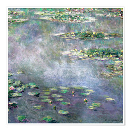 Poster  lily pond - Claude Monet