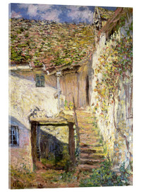Vetro acrilico  The staircase - Claude Monet