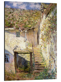 Stampa su alluminio  The staircase - Claude Monet