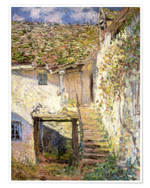 Poster Premium  The staircase - Claude Monet