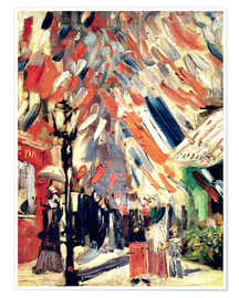 Poster Premium The 14th of July. 1886
