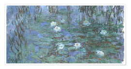 Poster Premium Lily pond
