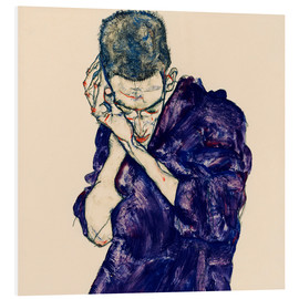 Forex  Youth with violet frock - Egon Schiele
