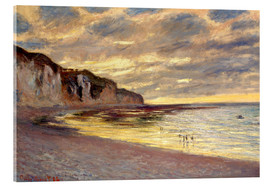 Claude Monet - Low tide at Pointe de L'Ailly
