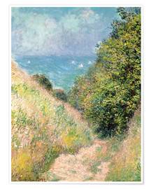 Poster Premium Narrow pass near Pourville