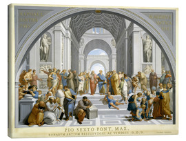 Stampa su tela  School of Athens (after Raphael) to 1771-79 - Giovanni Volpato