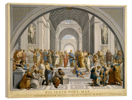 Stampa su legno  School of Athens (after Raphael) to 1771-79 - Giovanni Volpato