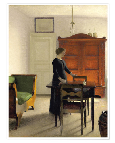 Poster Ida in an Interior