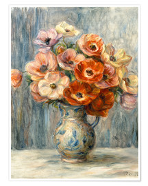 Poster Premium Bouquet in ceramic jug