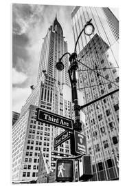 Forex  High Rise New York City - Chrysler Building (monochrome) - Sascha Kilmer