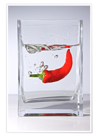Poster Premium Spicy Water