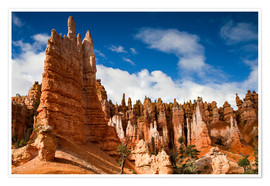 Poster Premium  Queen's garden trail at Bryce Canyon - Circumnavigation