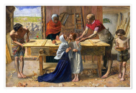 Poster Premium  Christ in the House of His Parents - Sir John Everett Millais