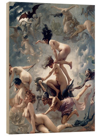 Legno  Witches going to their Sabbath - Luis Ricardo Falero