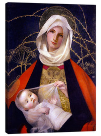 Tela  Madonna and Child - Marianne Stokes