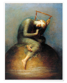 Poster  Hope - George Frederic Watts