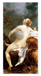 Poster  Io and Jupiter - Antonio Allegri da Correggio