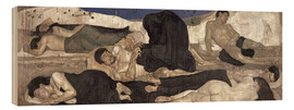 Stampa su legno  The Night - Ferdinand Hodler