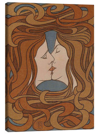 Tela  The Kiss - Peter Behrens