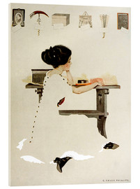 Stampa su vetro acrilico  Know all men by these presents - Clarence Coles Phillips