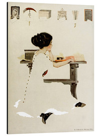 Stampa su alluminio  Know all men by these presents - Clarence Coles Phillips