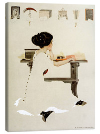 Stampa su tela  Know all men by these presents - Clarence Coles Phillips