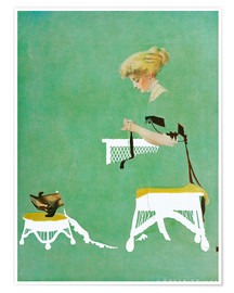 Poster Premium  Home ties - Clarence Coles Phillips