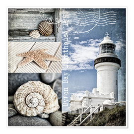 Poster Premium  Byron Bay Lighthouse - Andrea Haase