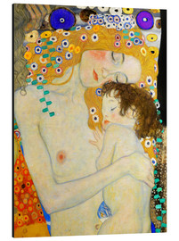 Alluminio Dibond  Mother and Child (detail) - Gustav Klimt