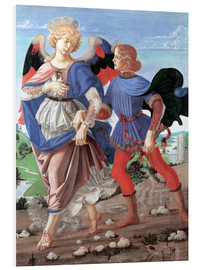 Stampa su schiuma dura  Tobias and the Angel - Andrea Verrocchio