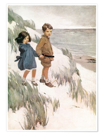 Poster Premium  Baa Baa Black Sheep - Jessie Willcox Smith
