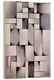 Stampa su legno  Composition in Gray (Rag-time) - Theo van Doesburg