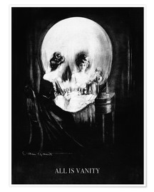 Poster Premium  All is Vanity - Charles Allan Gilbert