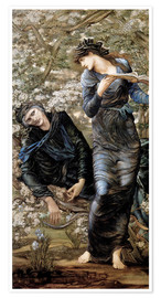 Poster Premium  Beguiling of Merlin - Edward Burne-Jones