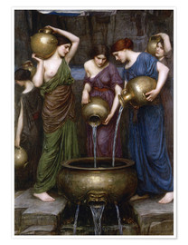 Poster Premium  Le Danaidi - John William Waterhouse