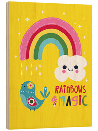Legno  Rainbows and magic - Kat Kalindi Cameron