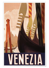 Poster Premium  Venezia - Travel Collection