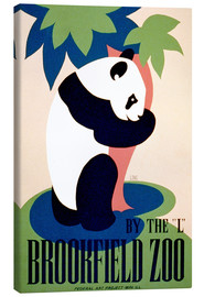 Stampa su tela  Brookfield Zoo - Advertising Collection
