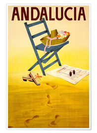 Poster Premium  Andalucia - Travel Collection