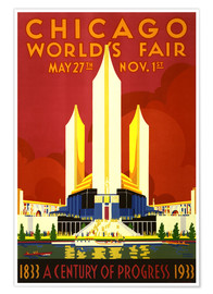 Poster Premium  Chicago worlds fair - Travel Collection