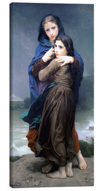 Stampa su tela  The Storm - William Adolphe Bouguereau