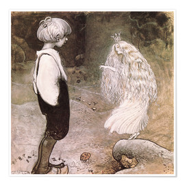 Poster  The seven wishes - John Bauer
