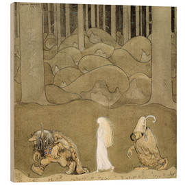 Legno  The Princess and the Trolls - John Bauer
