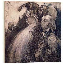 Legno  Troll of the forest - John Bauer